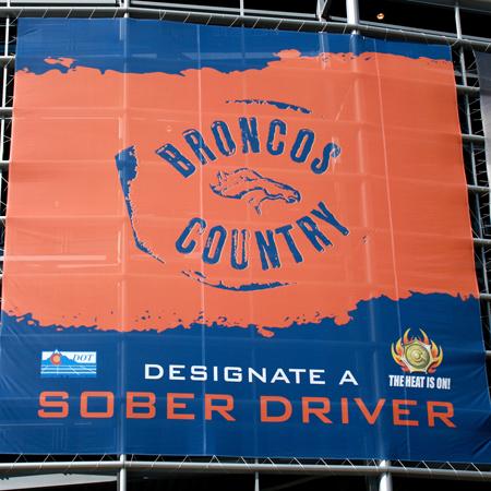 CDOT - Invesco Field Banner