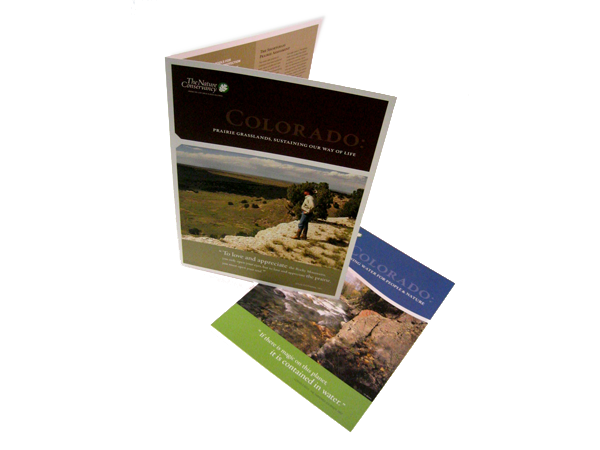 Nature Conservancy Brochure