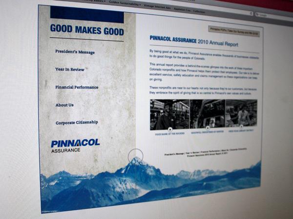 Pinnacol Online Annual Report